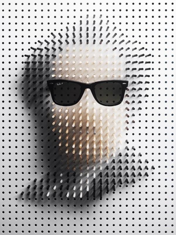 Celebrity Pin Art Portraits de Philip Karlberg