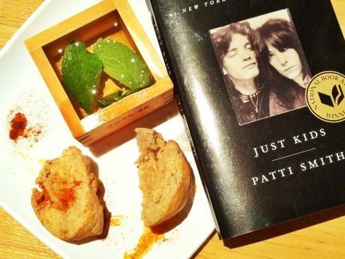 """Un snack """"Just Kids"""";  Ou, Patti Smith est mon héros"""