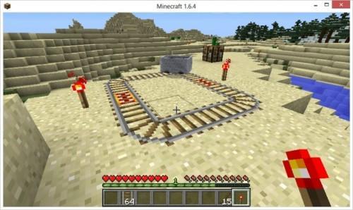Minecraft: l'utilisation de l'opérateur ferroviaire des chemins de fer - comment cela fonctionne: