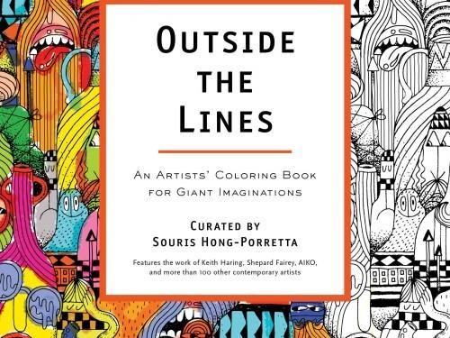 """L'article du jour: """"Outside the Lines: Coloring Book d'artistes pour Imaginations géants"""""""
