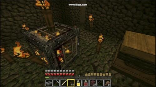 Comment crafter une selle sur minecraft
