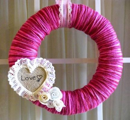 20 couronnes saint valentin jolie pour bricolage - Bricolage st valentin ...