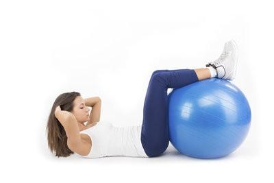 Body Building avec Fitness Ball