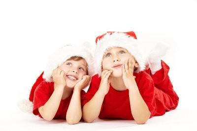 Alignez fête de Noël pour les enfants - un tel succès une belle célébration