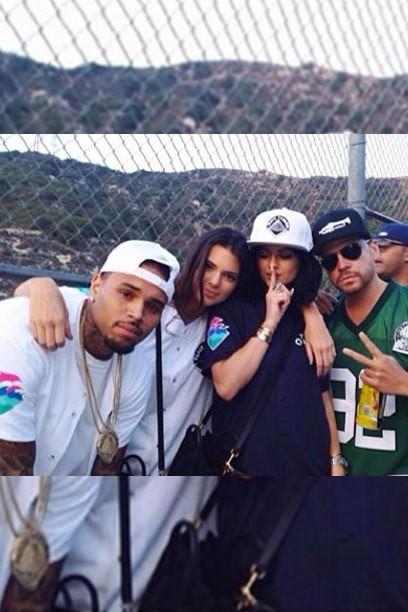 Kendall Jenner flirts chauds: Chris Brown, Chandler Parsons, -