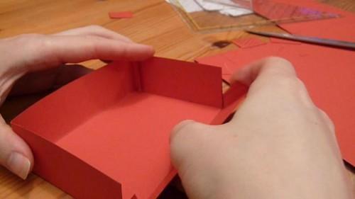 Karteikasten bricolage - Instructions