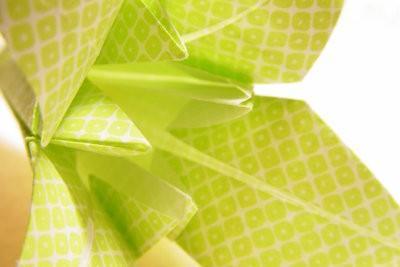 Pliez un Origami Fleur Avec