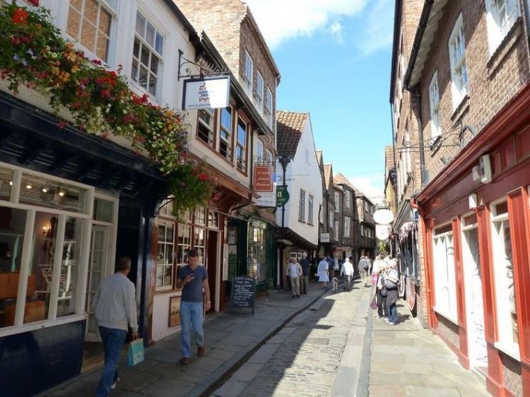 The Shambles, York: la rue la plus médiévale en Angleterre