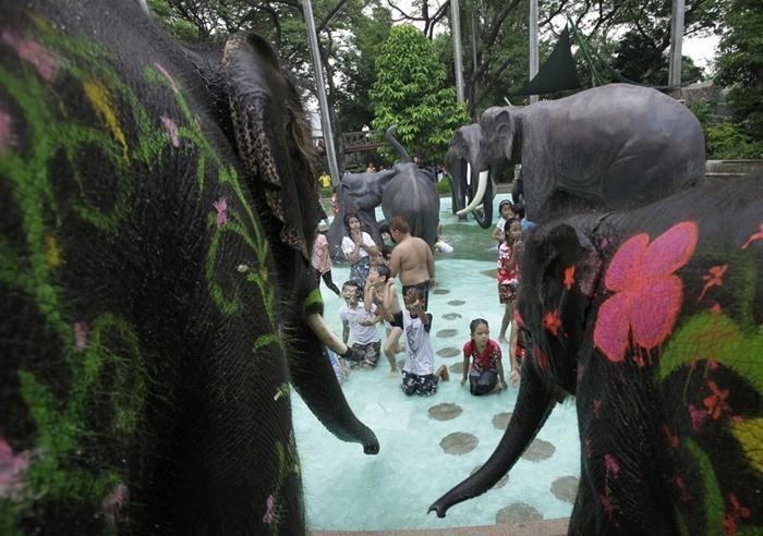 Songkran Festival: Thai Célébration du Nouvel An