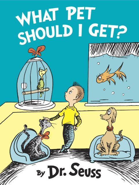 Le livre du Dr. Seuss nouvellement découverte nous a toutes sortes de psyched