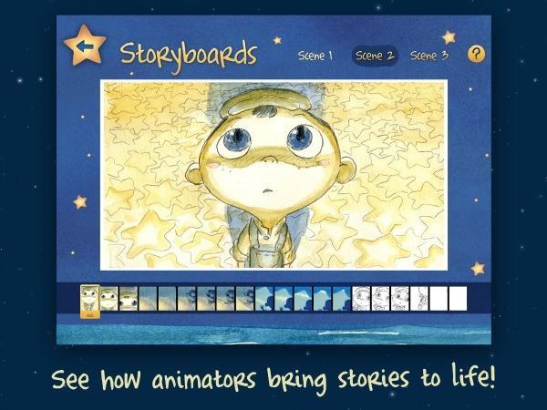 La Luna App, maintenant Une belle histoire interactive