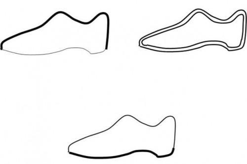 Interpréter les signes pour les chaussures de cuir bien