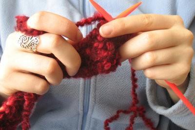 Pantoufles en tricot - comment cela fonctionne: