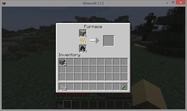 Minecraft o puis je trouver de l 39 or for Ou apparait la pelle dans artisanat minecraft