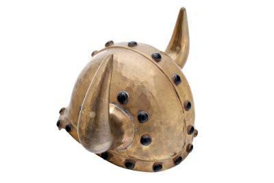 Viking casque en papier mâché artisanat - Manuel