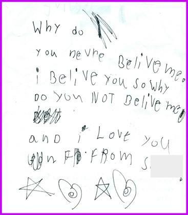10 Notes comiques écrites par les enfants