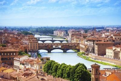Rivières en Italie - la liste