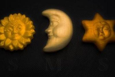 Faire Costumes pour les enfants eux-mêmes - afin de réussir le soleil, la lune et les étoiles couvre-