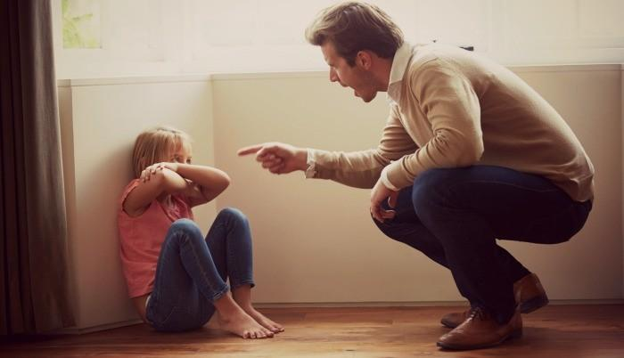 Il est OK pour crier à vos enfants Parfois