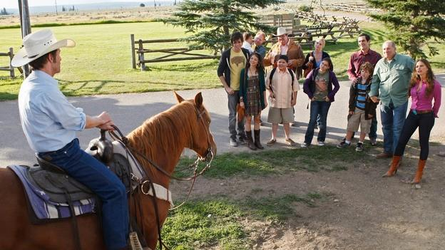 Vacances comme Modern Family!  The Lost Creek Dude Ranch De Season Premiere