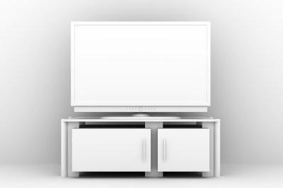 Meuble de télévision, qui peut être abaissée - Instructions