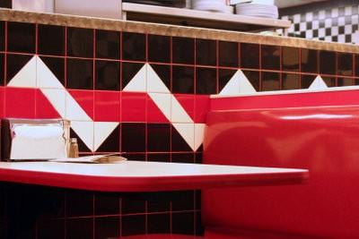 Cuisine design - transformant ainsi votre cuisine un dîner de style années 50