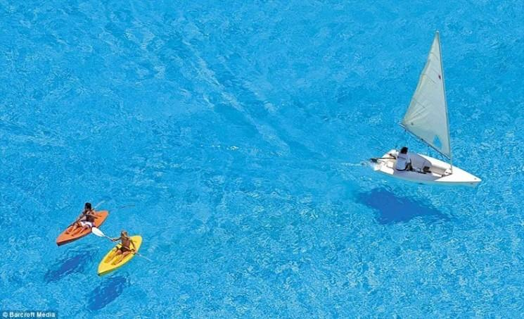 La plus grande piscine du monde - How big is an average swimming pool ...