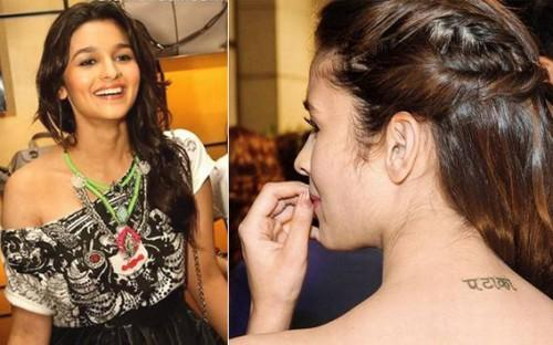 Top 10 Célébrités Bollywood avec leurs belles Tatouages