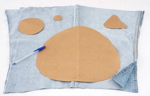 dr le jeans oreillers bricolage. Black Bedroom Furniture Sets. Home Design Ideas