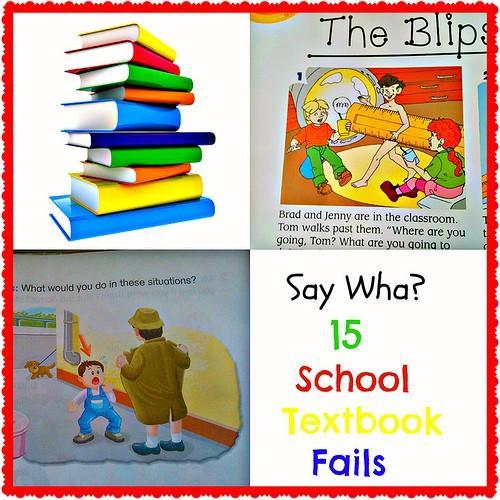 15 Hilarant, Creepy et Just Plain Bizarre manuels scolaires échoue