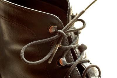 cordon noeud en cuir - avec des instructions en daim