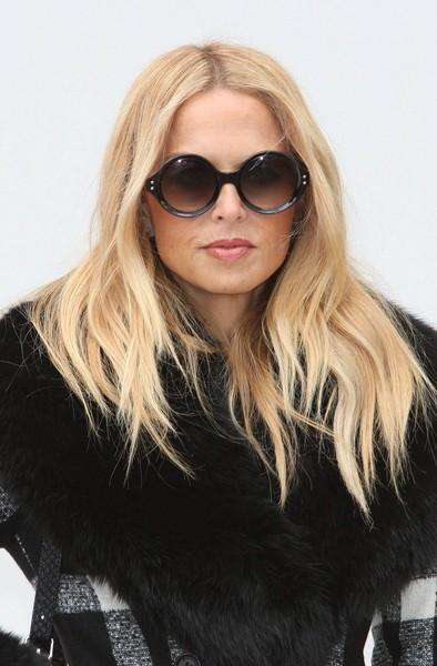 Bananes Pour Burberry: Rachel Zoe Wears fourrure à la Fashion Week de Londres (Nouvelles photos!)