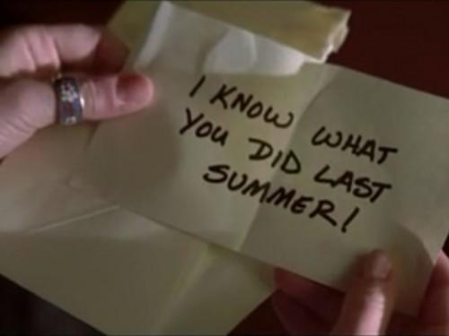 """Cinq façons «Je sais ce toi l'été dernier"""" Ruined My Life"""