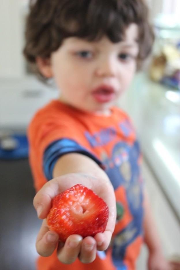 Facile Sans cuisson aux fraises fraîches Sirop