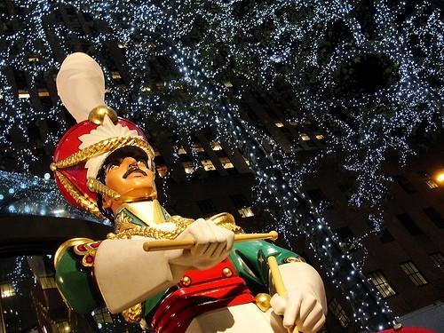 Superbes photos de 2011 affiche des fenêtres de Noël et de vacances de New York