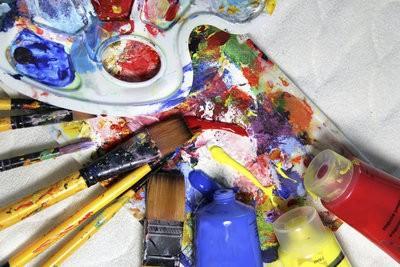Peinture à l'acrylique - un guide pour les débutants