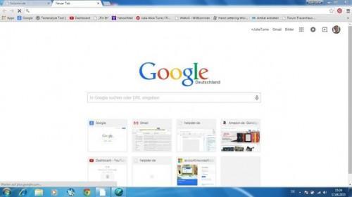 Définir Google Chrome pages les plus visitées - si ça va marcher