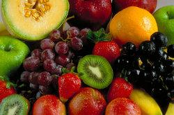 Le fructose contenu de fruits - informatif