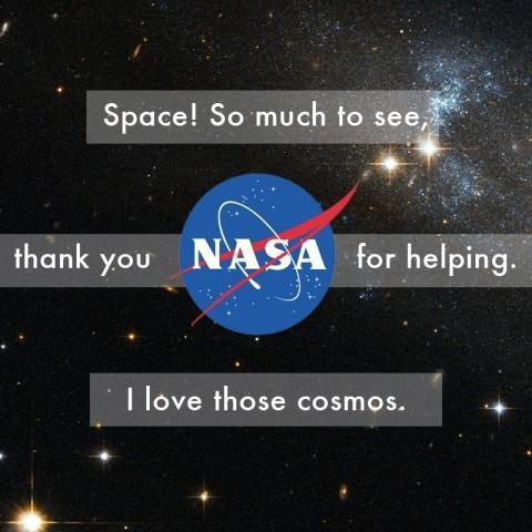 3 Haiku: l'espace!