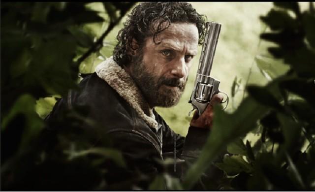 """AMC """"The Walking Dead"""" Saison 5 Date de sortie: Andrew Lincoln, Steven Yeun, Lauren Cohan, Danai Gurira et producteur Parlez personnages en développement"""