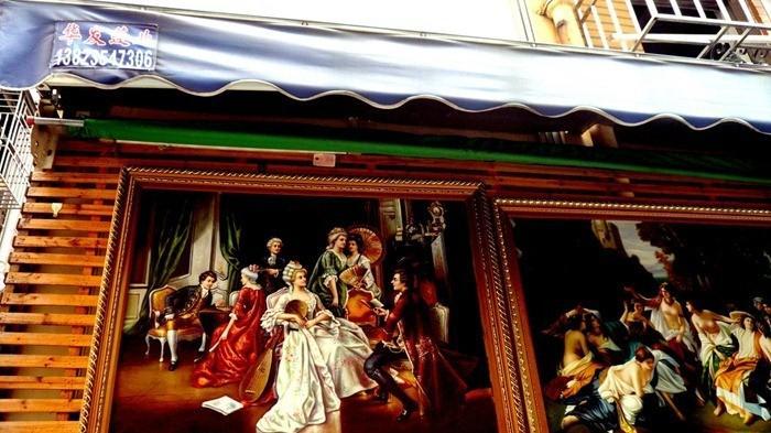 Dafen peinture à l'huile Village: Où Faux Art is Business