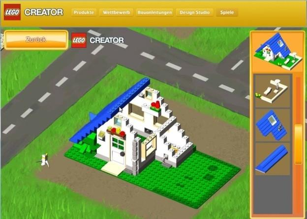 construire lego en ligne comment il fonctionne avec lego creator. Black Bedroom Furniture Sets. Home Design Ideas