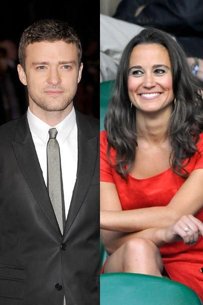 Confession dans une interview!  - Justin Timberlake aime Pippa Middleton