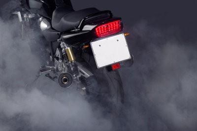 Commandez la plaque d'immatriculation temporaire pour les motos - Instructions