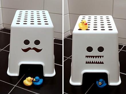 7 clever ikea hacks pour la chambre de votre enfant for Ikea chambre hacks