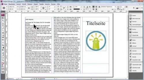 Flyer Selbermachen - est de savoir comment cela fonctionne avec InDesign