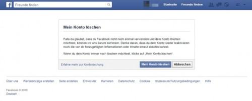 Désenregistrement avec Facebook - Voici comment