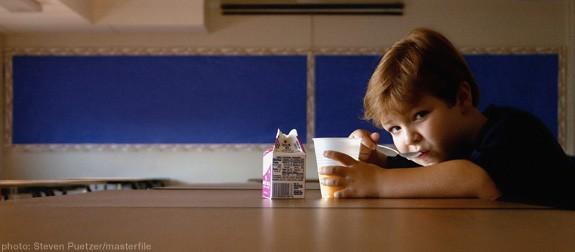 Cantine scolaire et l'obésité infantile