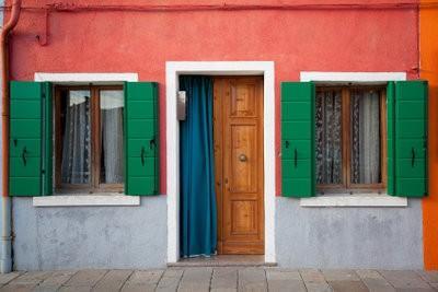 rideau de la porte pour l'hiver - suggestions