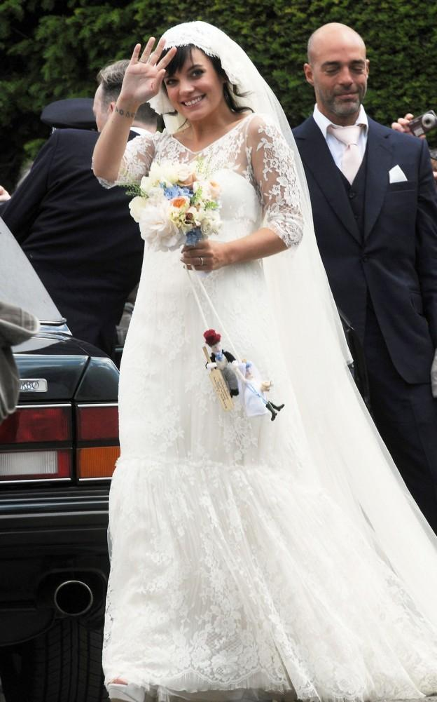 Lily Allen prend It Easy Avec sa grossesse (Photos)
